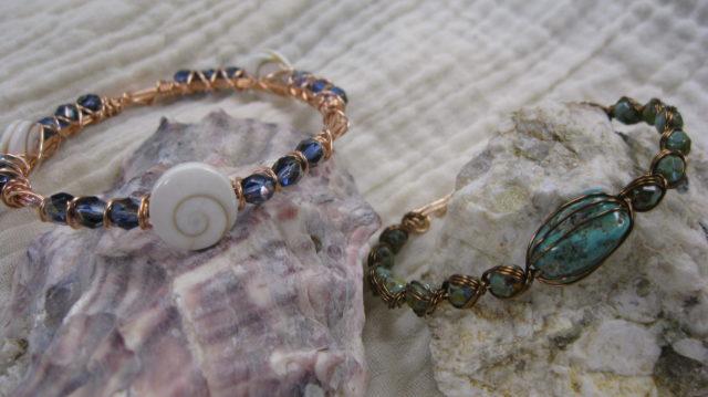 Wire Bracelets by Shenandoah Valley Made