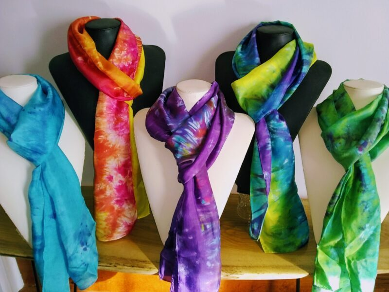 Silk Scarf Collection by Shenandoah Valley Made